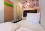 Bavaria Motel in München in Bayern, Beispiel Einzelzimmer