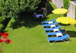 DEVA Hotel Sonnleiten in Reit im Winkl Chiemgau Bayern, Liegewiese