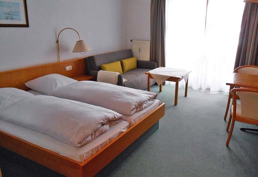 Hotel Gottinger in Waldkirchen, Bayerischer Wald, Beispiel Appartement