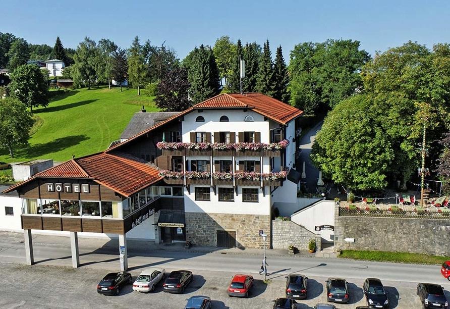 Hotel Gottinger in Waldkirchen, Bayerischer Wald, Haupthaus