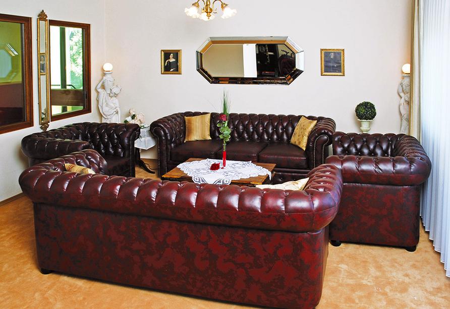 Landhotel Christopherhof in Grafenwiesen, Aufenthaltsraum