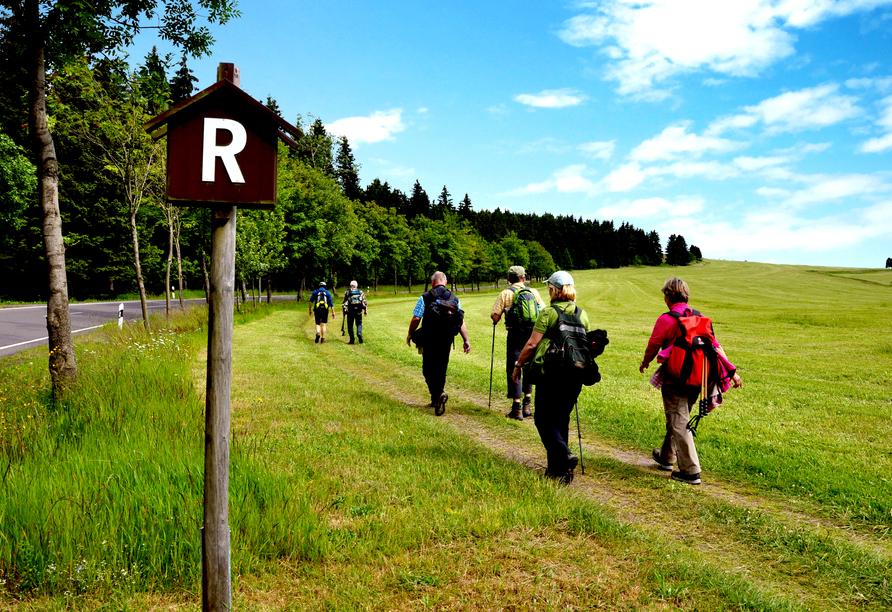 AHORN Berghotel Friedrichroda in Friedrichroda im Thüringer Wald Wanderer