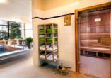 AHORN Berghotel Friedrichroda in Friedrichroda im Thüringer Wald Saunabereich