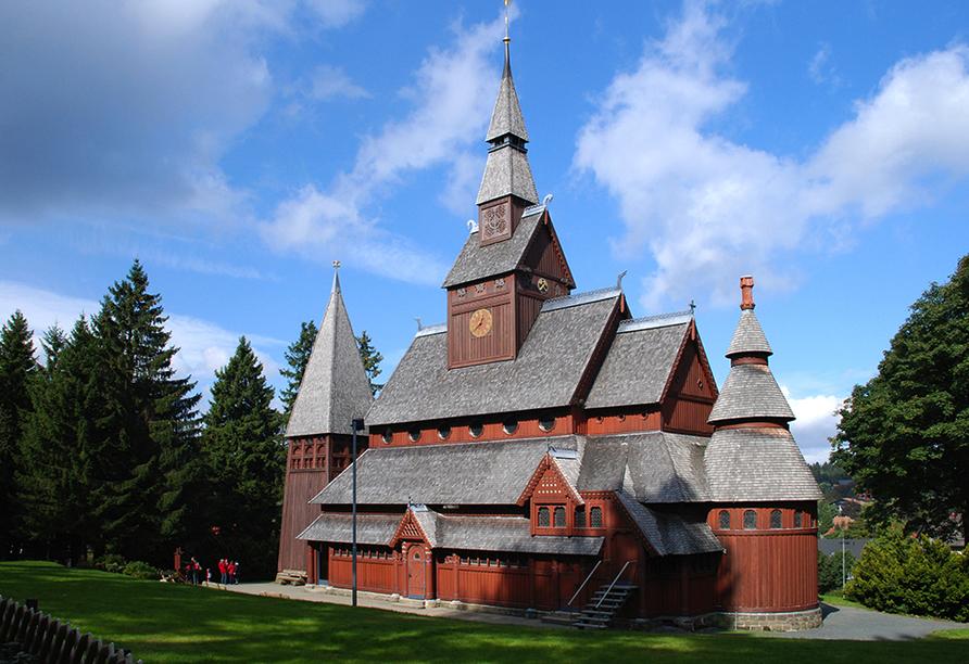 CAREA sunotel Kreuzeck in Goslar-Hahnenklee im Harz, Ausflugsziel Holzkirche