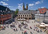 CAREA sunotel Kreuzeck in Goslar-Hahnenklee im Harz, Altstadt von Goslar