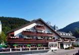Hotel Sonne in Wildhaus, Außenansicht
