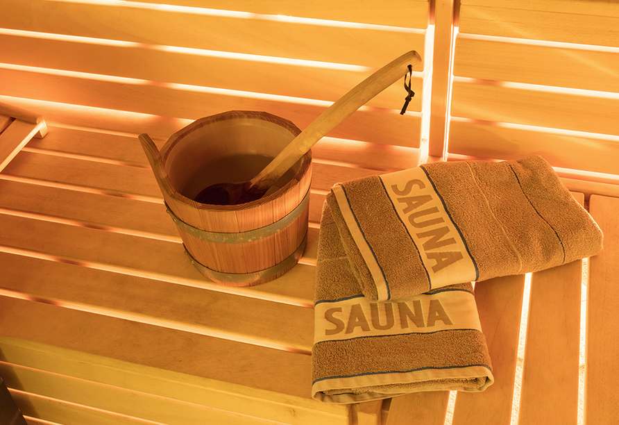 First Mountain Hotel Zillertal in Aschau, Sauna