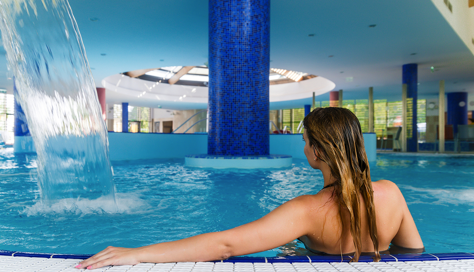 Thermal Hotel Balance in Lenti, Therme Innenpool