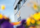 Orange Hotel und Apartments in Neu-Ulm Mittelschwaben, Aussenansicht