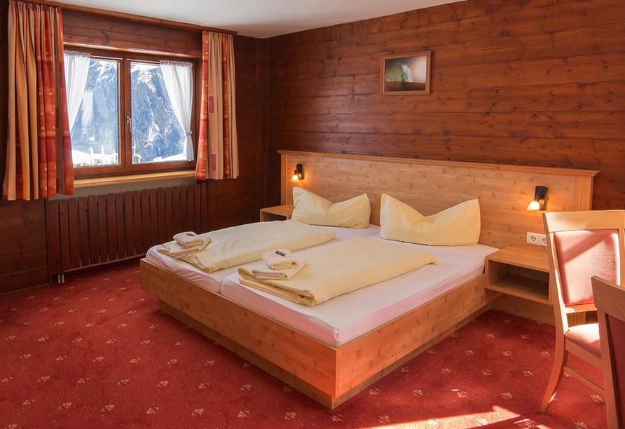 Alpenhotel Garfrescha, St. Gallenkirch, Zimmerbeispiel