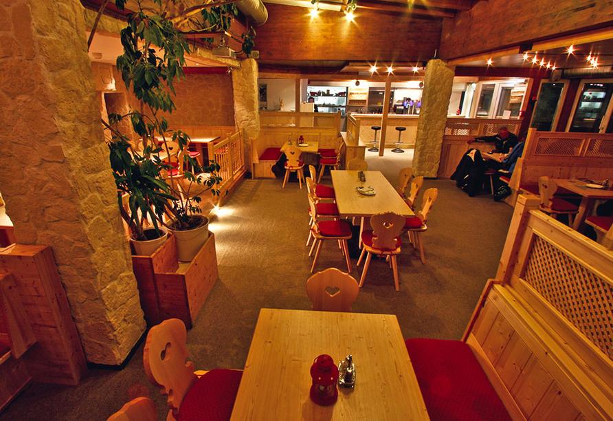 Alpenhotel Garfrescha, St. Gallenkirch, Restaurant