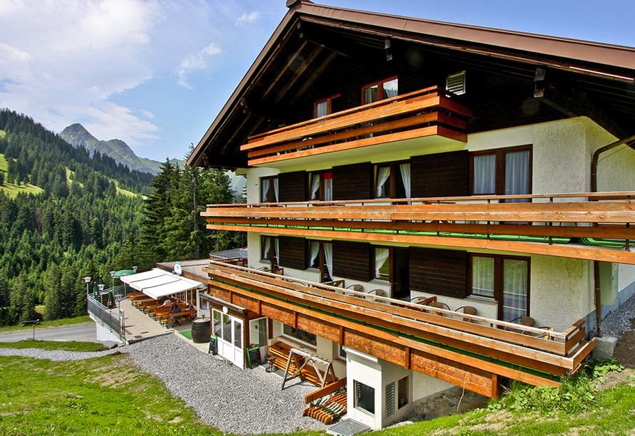 Alpenhotel Garfrescha, St. Gallenkirch, Außenansicht