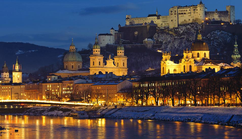 JUFA Hotel Salzburg City, Blick auf Salzburgs Altstadt