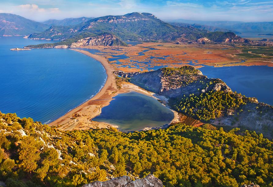 Lykien & Türkische Riviera, Dalyan-Delta