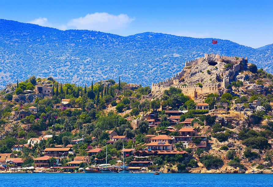 Lykien & Türkische Riviera, Kaleköy