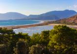 Lykien & Türkische Riviera, Iztuzu Strand