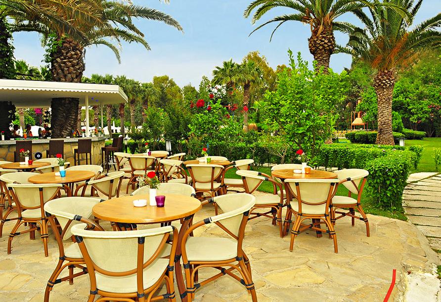 Beispielhotel Armas Saray Regency, Terrasse
