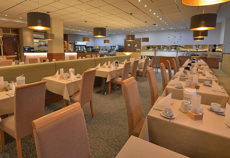 Kurhotel Pyramida 1, Franzensbad, Tschechien, Restaurant