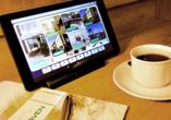Nordseehotel Wilhelmshaven, Tablet-Computer