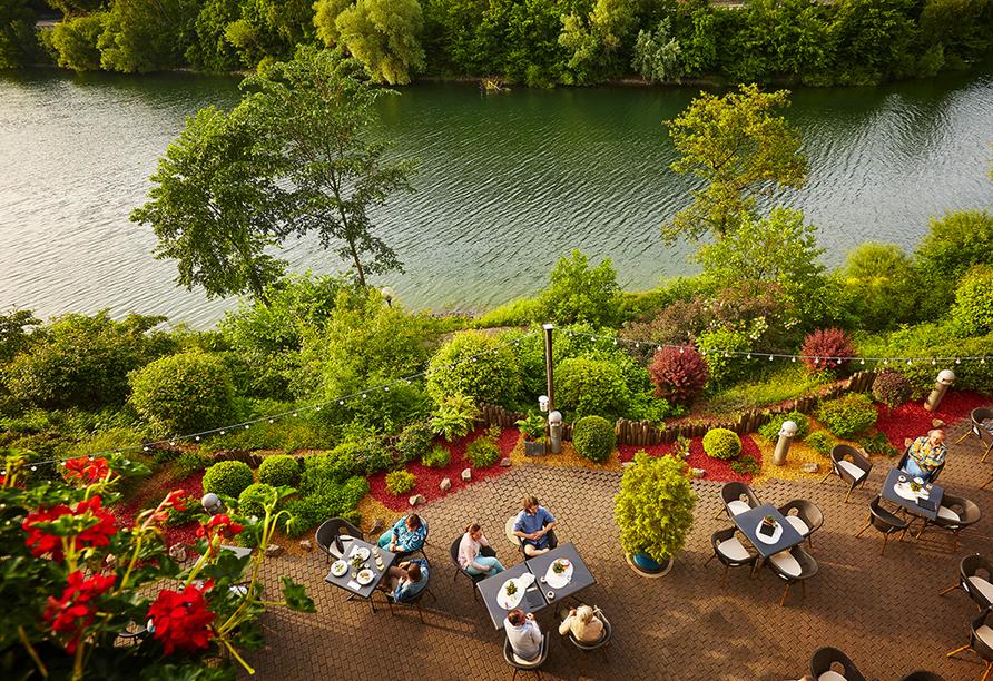 Göbel's Seehotel Diemelsee, Terrasse