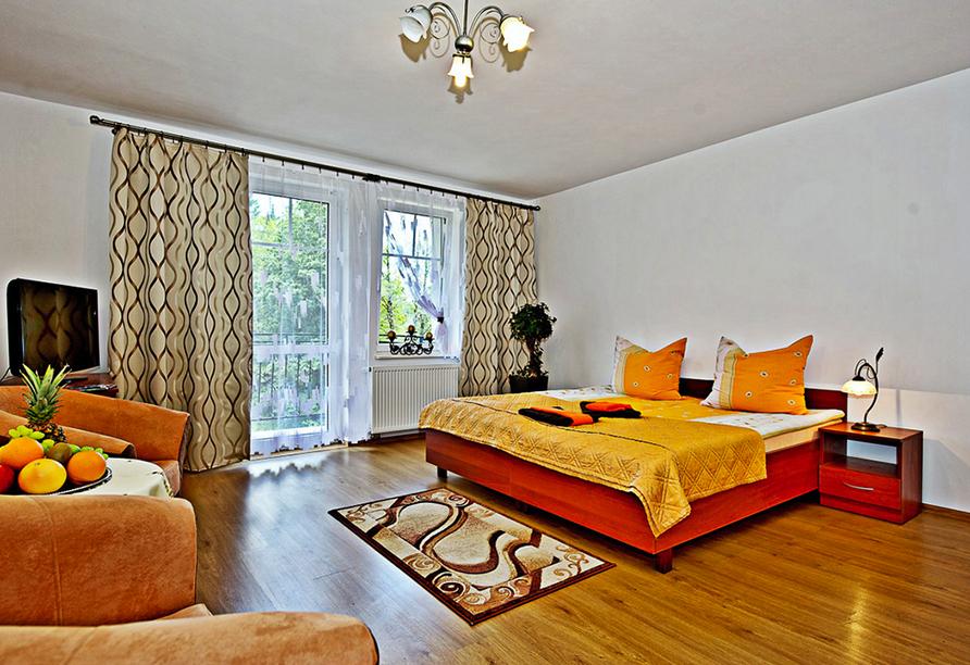 Kurhotel Pasja in Bad Flinsberg, Zimmerbeispiel