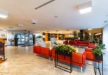 Solny Resort & Spa in Kolberg, Eingangsbereich