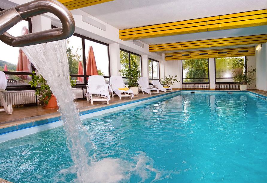 Vital & Wellness Hotel Schürger in Thurmansbang im Bayerischen Wald, Hallenbad