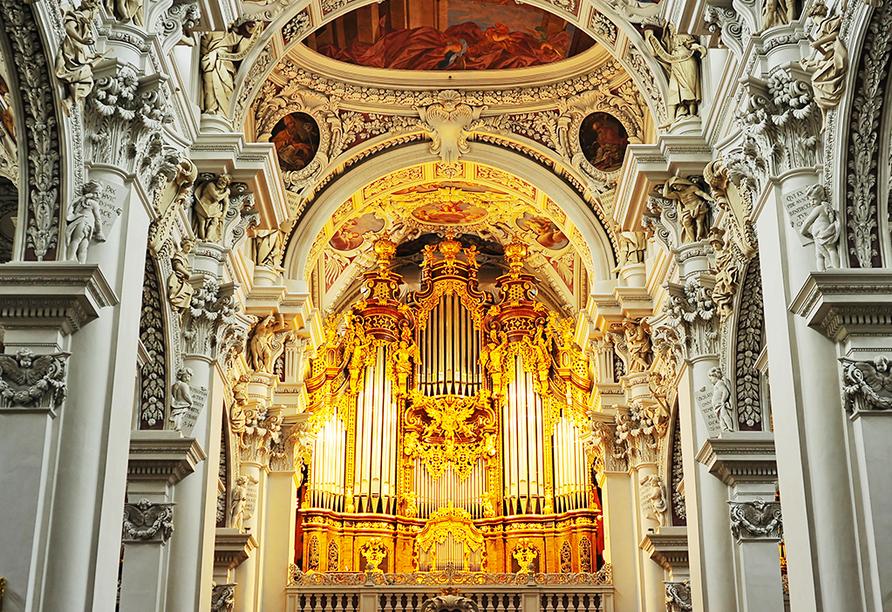 Vital & Wellness Hotel Schürger in Thurmansbang im Bayerischen Wald, Passau, Orgel