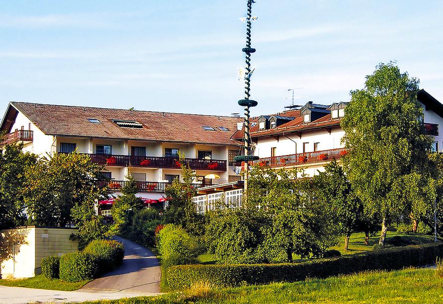 Vital & Wellness Hotel Schürger in Thurmansbang im Bayerischen Wald, Außenansicht