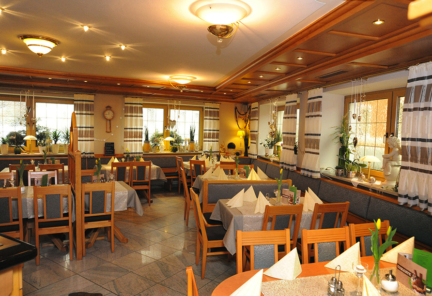 Hotel Rösslwirt in Lam, Restaurant