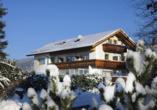 Hotel Rösslwirt in Lam, Winterlandschaft
