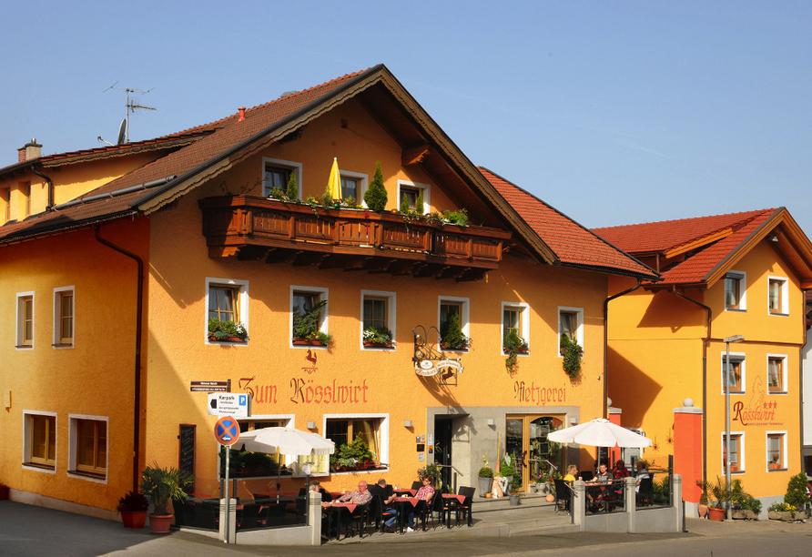 Hotel Rösslwirt in Lam, Außenansicht