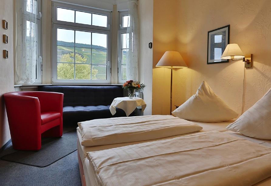 Hotel Krone in Bingen am Rhein, Doppelzimmerbeispiel