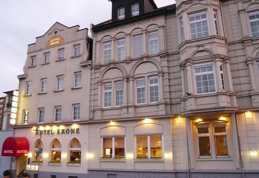 Hotel Krone in Bingen am Rhein, Außenansicht