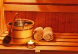 First Mountain Hotel Ötztal Längenfeld Tirol Österreich, Sauna