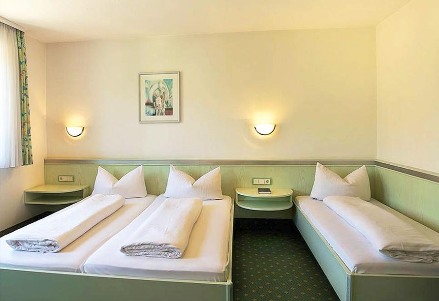 Hotel Am Markt in Greding, Beispiel Doppelzimmer Komfort