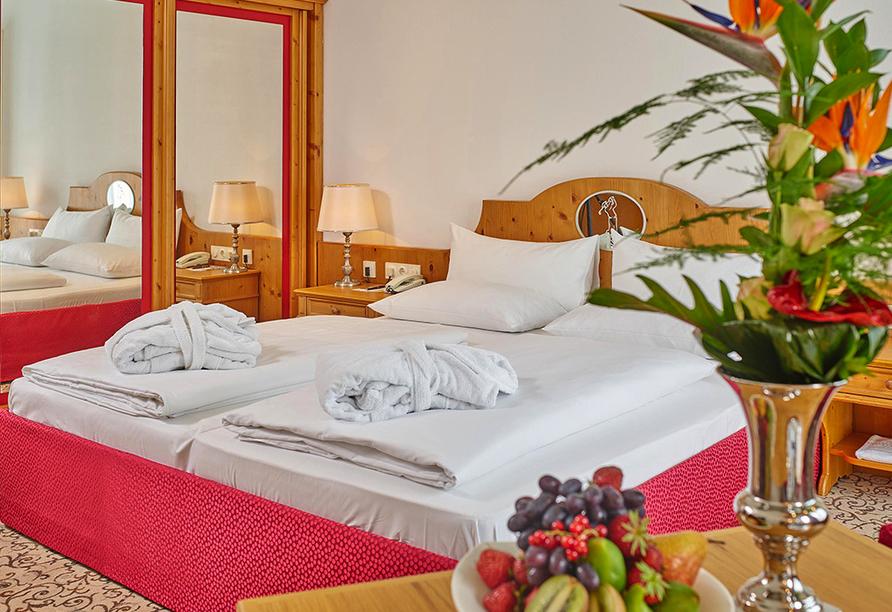 Maximilian Quellness und Golfhotel, Zimmerbeispiel