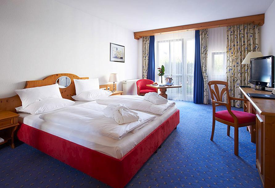 MAXIMILIAN Quellness- und Golfhotel in Bad Griesbach, Zimmerbeispiel