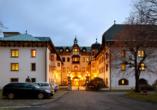 Chateau Monty SPA Resort in Marienbad in Tschechien, Außenansicht