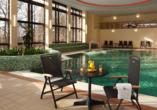 Chateau Monty SPA Resort in Marienbad in Tschechien, Hallenbad