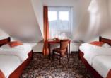 Chateau Monty SPA Resort in Marienbad in Tschechien, Zimmerbeispiel