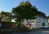 Pension Am Roten Hammer in Oberwiesenthal, Außenansicht