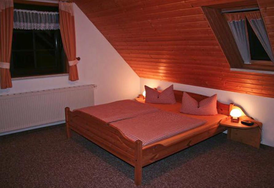Pension Am Roten Hammer in Oberwiesenthal, Zimmerbeispiel