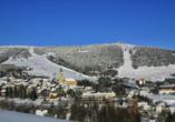 Pension Am Roten Hammer in Oberwiesenthal, Winter