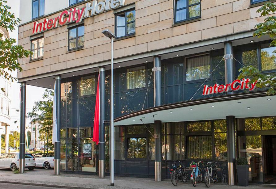 IntercityHotel Magdeburg, Außenansicht