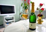 Hotel Alexandra in Plauen im Vogtland & Erzgebirge Sektempfang