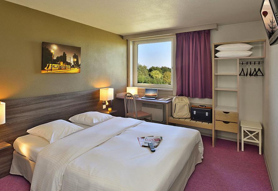 Als Hotel in Ottmarsheim im Elsass, Zimmer