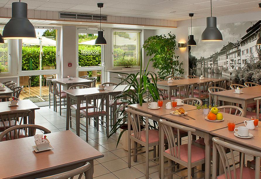 Als Hotel in Ottmarsheim im Elsass, Restaurant
