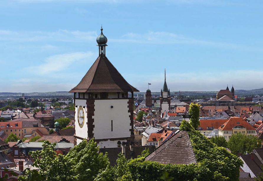 Als Hotel in Ottmarsheim im Elsass, Freiburg