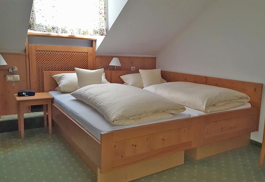 Hotel Haus Christl in Bad Griesbach, Beispiel Doppelzimmer